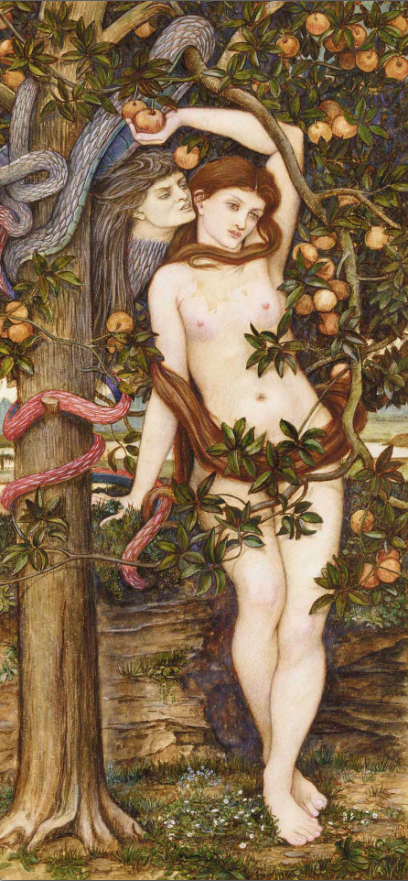 John Roddam Spencer Stanhope. Eve Tempted by the Serpent. C. 1877