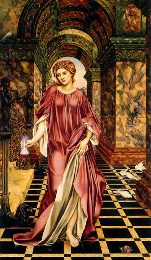 Evelyn De Morgan.  1889.  Birkenhead, Wirral, Williamson Art Gallery and Museum.